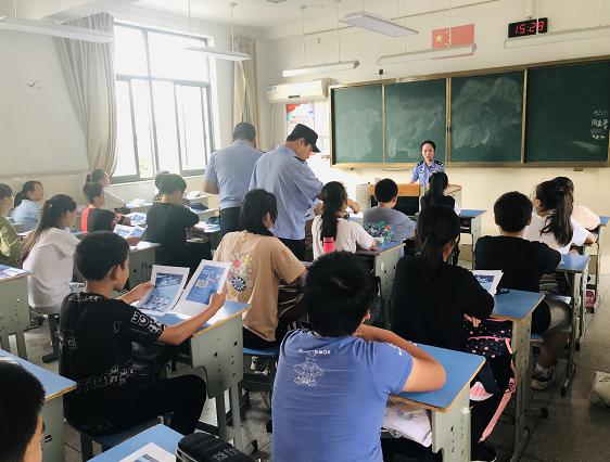 新区大路:反诈宣传进校园  警校共筑防骗墙